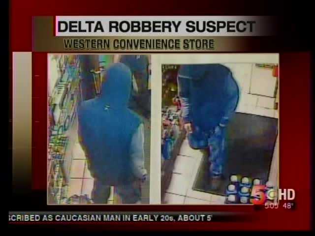 Delta Police Looking for Store Robbery Suspect_-9123518734733065076