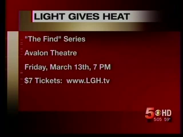 """New Film Series """"The Find"""" set for Pre-Screening at Avalon_8303917226065021177"""