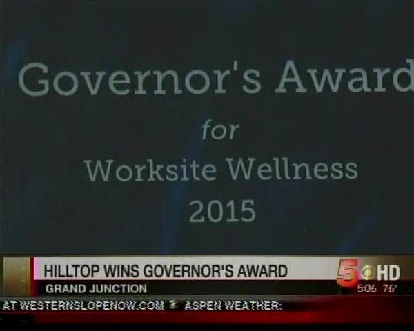 Hilltop Wins Governor's Award for Work-site Wellness_6979265229754155863