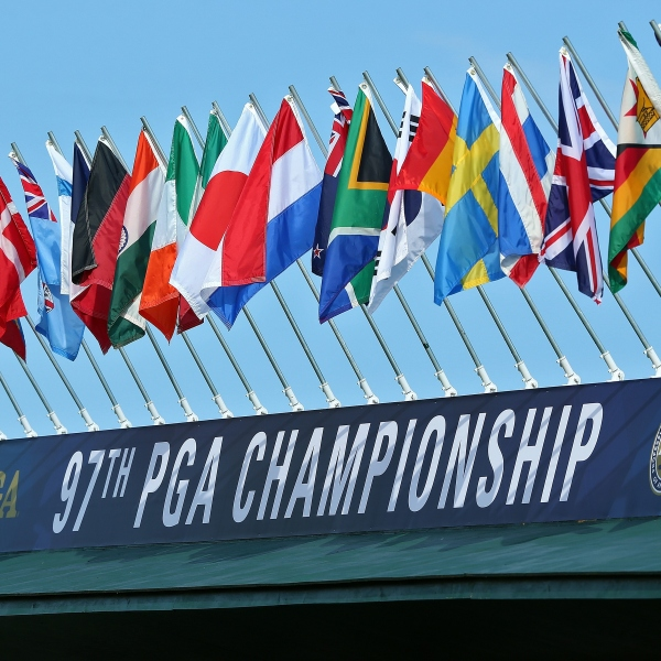 PGA Championshp Practice Begins at Whistling Straits