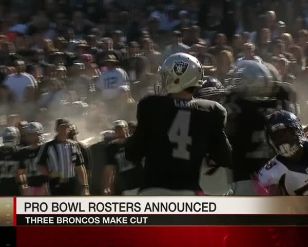 Denver Trio Makes Pro Bowl