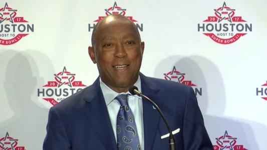 Mayor of Houston - Super Bowl Welcome_06015109