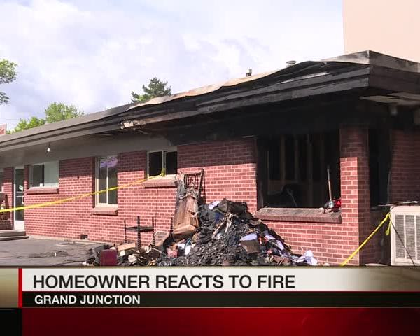 Tenants Reaction to his Residence Catching Fire_73004740