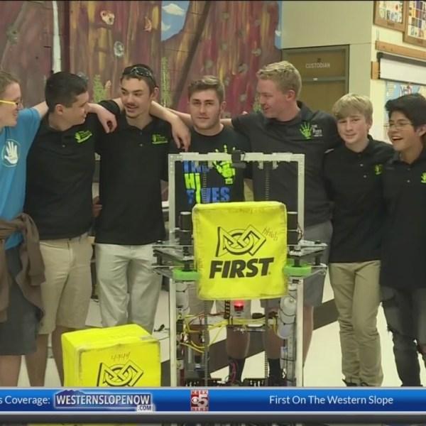 Allgood News: HI Fives 4944 Robotics Team