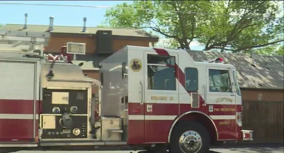 Clifton Fire Receives Grant Funding for Repairs