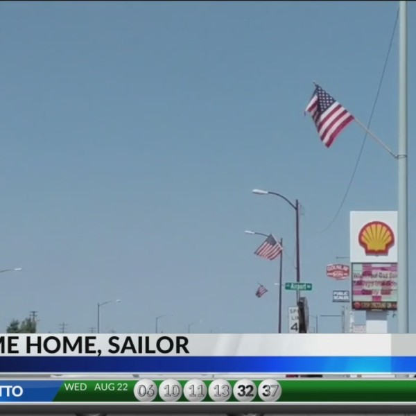 Montrose Sailor Receives Community Welcome