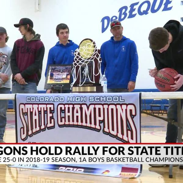 Dragons Hold Rally to Honor State Championship Team