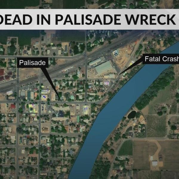 One Dead in Palisade Crash