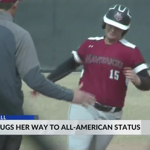Torres Slugs Her Way to All-American Honors