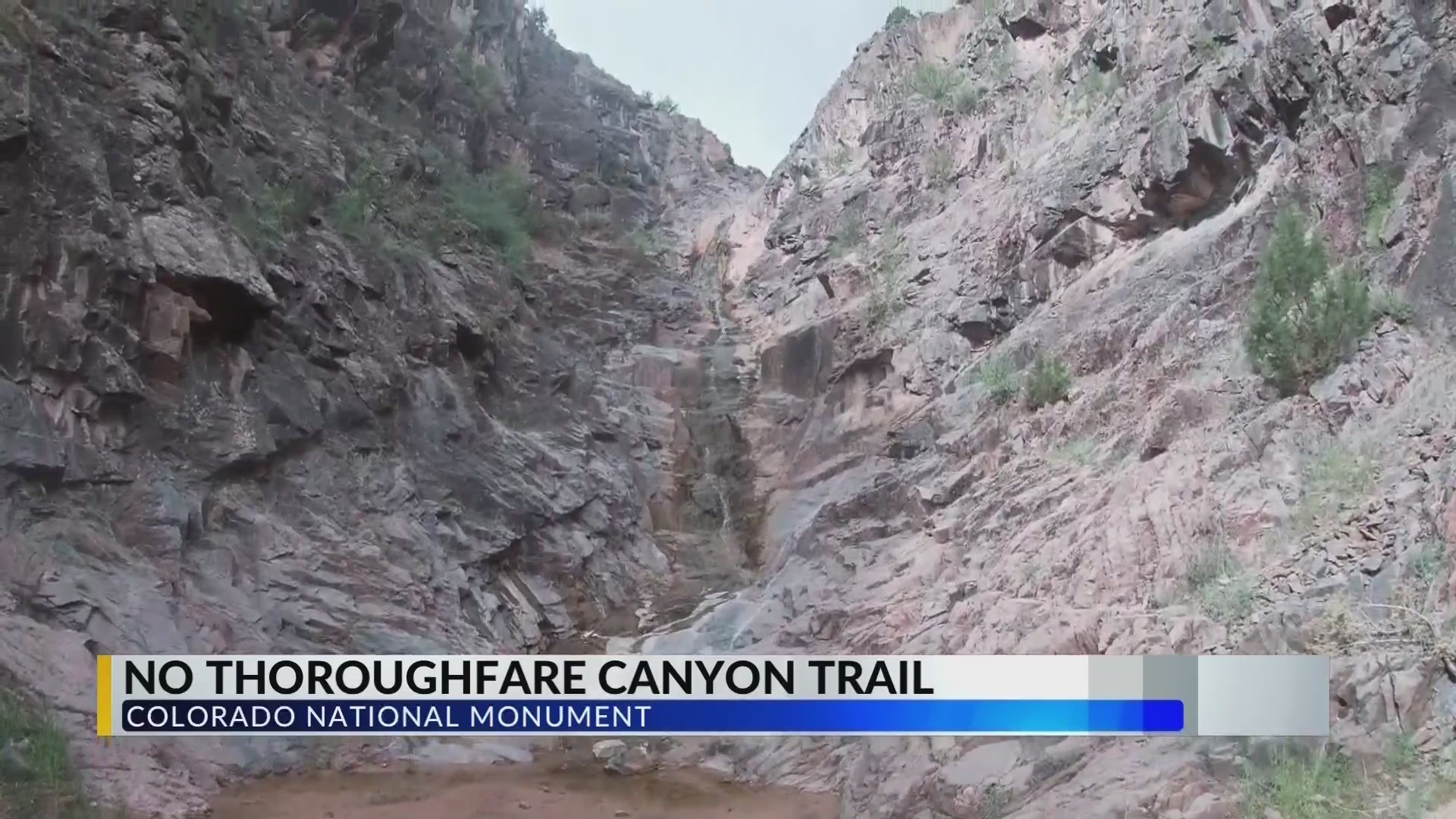Troy's Terrific Trails: No Thoroughfare Canyon