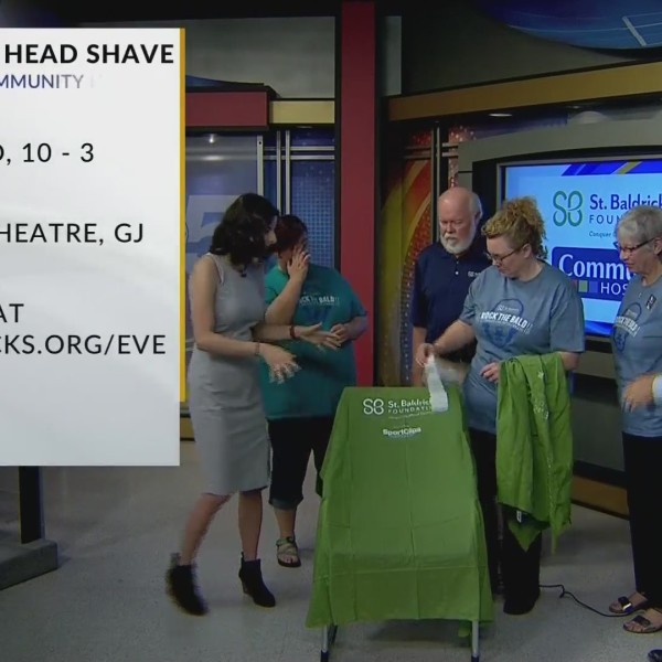 8th Annual Head Shaving Event