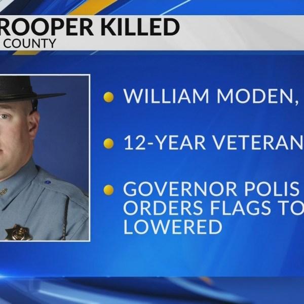 CSP Trooper Killed on I-70
