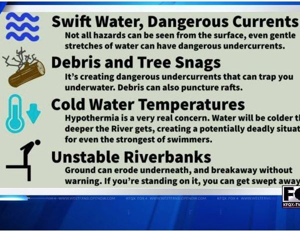 GJFD Warns About River Danger