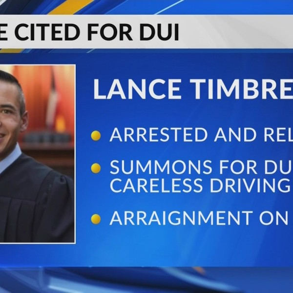 Judge Cited For DUI 6/20