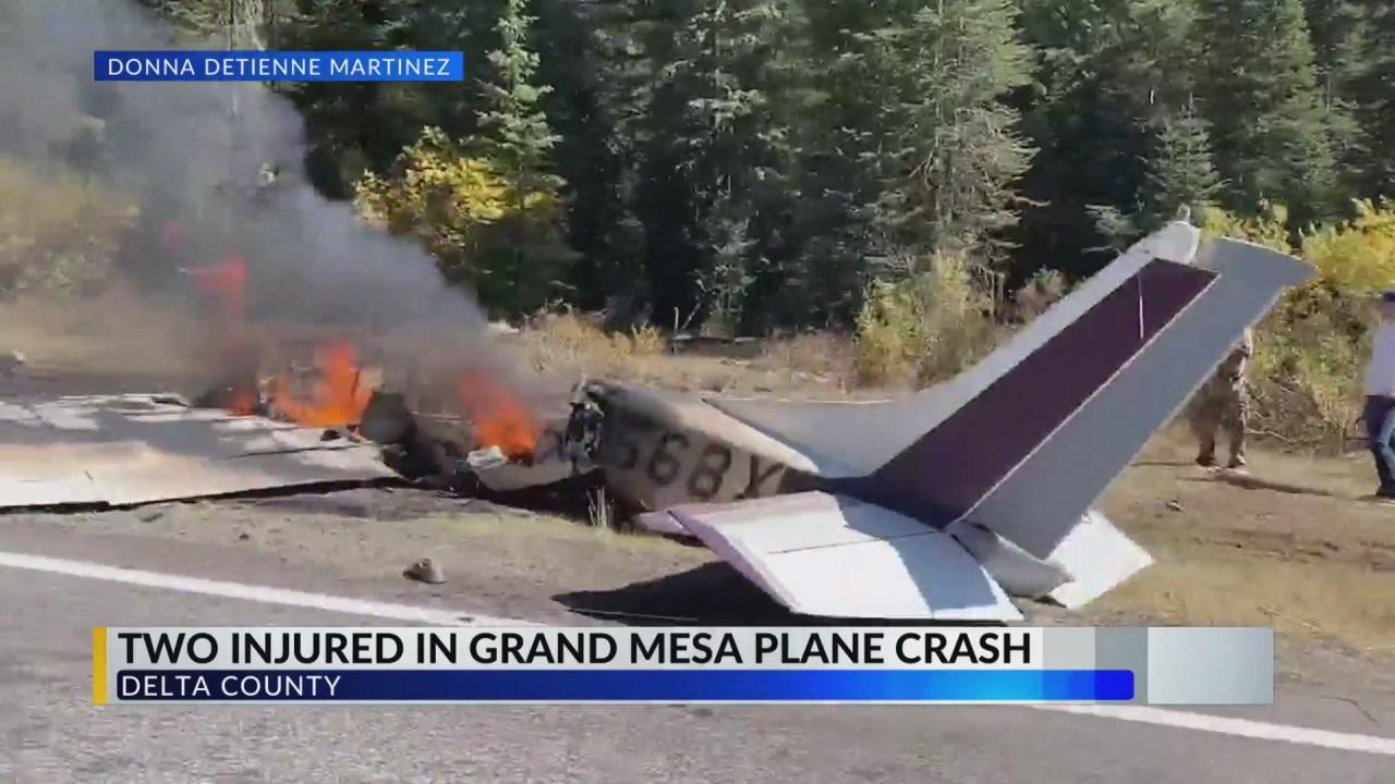 Two Injured After Plane Crash On Grand Mesa Krex